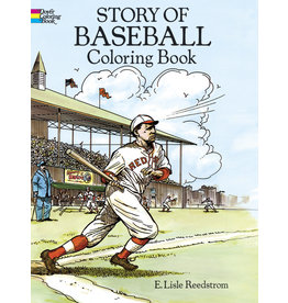 DOVER PUBLICATIONS INC Reedstrom-Story of Baseball Coloring Boo