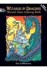 DOVER PUBLICATIONS INC Gottesman-Wizards and Dragons Stained Gl