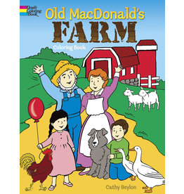 DOVER PUBLICATIONS INC Beylon-Old MacDonald's Farm Coloring Boo