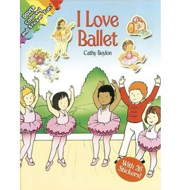 DOVER PUBLICATIONS INC Beylon-I Love Ballet