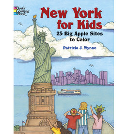 DOVER PUBLICATIONS INC Wynne-New York for Kids: 25 Big Apple Si