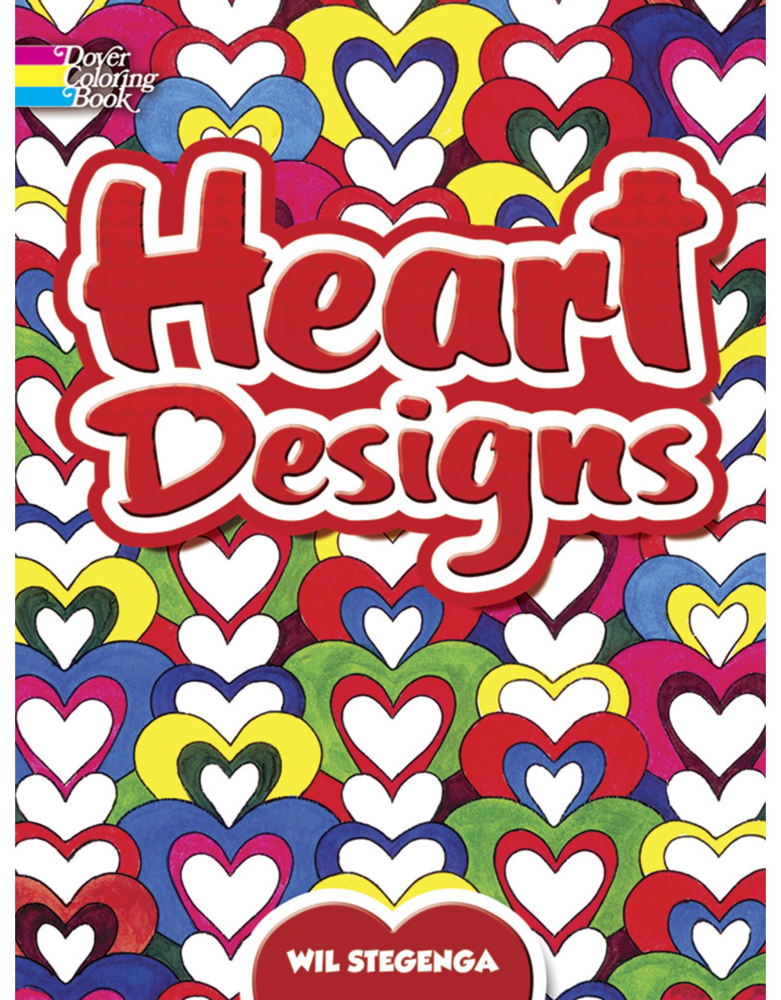 DOVER PUBLICATIONS INC Stegenga - Heart Designs CB