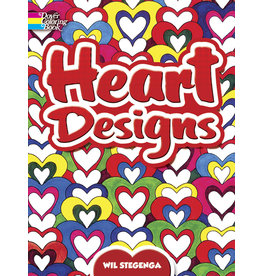 DOVER PUBLICATIONS INC Stegenga - Heart Designs CB