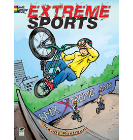 DOVER PUBLICATIONS INC Roylman - Extreme Sports Coloring Book