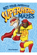 DOVER PUBLICATIONS INC Donahue - Not Your Avg. Superhero Mazes