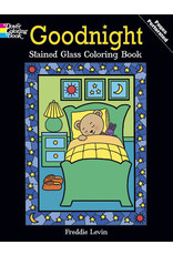 DOVER PUBLICATIONS INC Levin - Goodnight Stained Glass CB