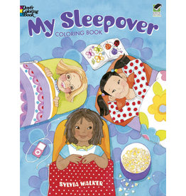 DOVER PUBLICATIONS INC Walker - My Sleepover Coloring Book