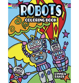 DOVER PUBLICATIONS INC Rakos - Robots Coloring Book