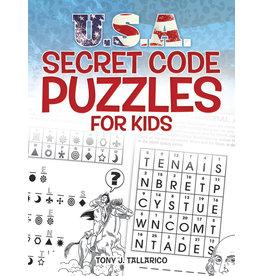 DOVER PUBLICATIONS INC Tallarico-U.S.A.Secret Code Puz for Kids