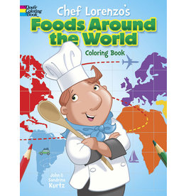 DOVER PUBLICATIONS INC Kurtz-Chef Lorenzo's Foods Around the Wo