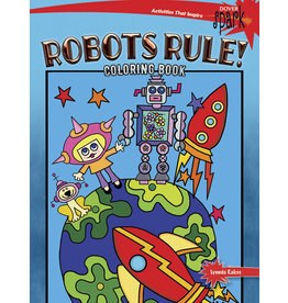 DOVER PUBLICATIONS INC Rakos-SPARK Robots Rule! CB