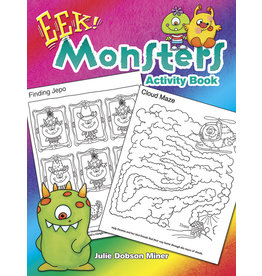DOVER PUBLICATIONS INC Miner-EEK! Monsters Activity Book