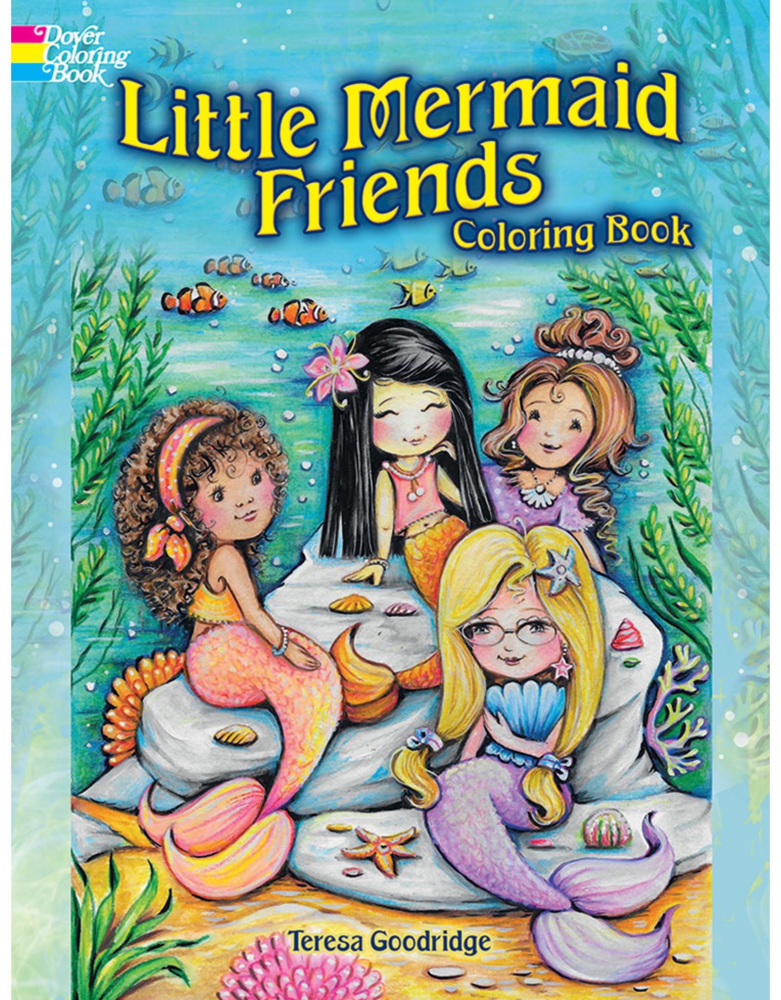 DOVER PUBLICATIONS INC Goodridge-Little Mermaid Friends CB