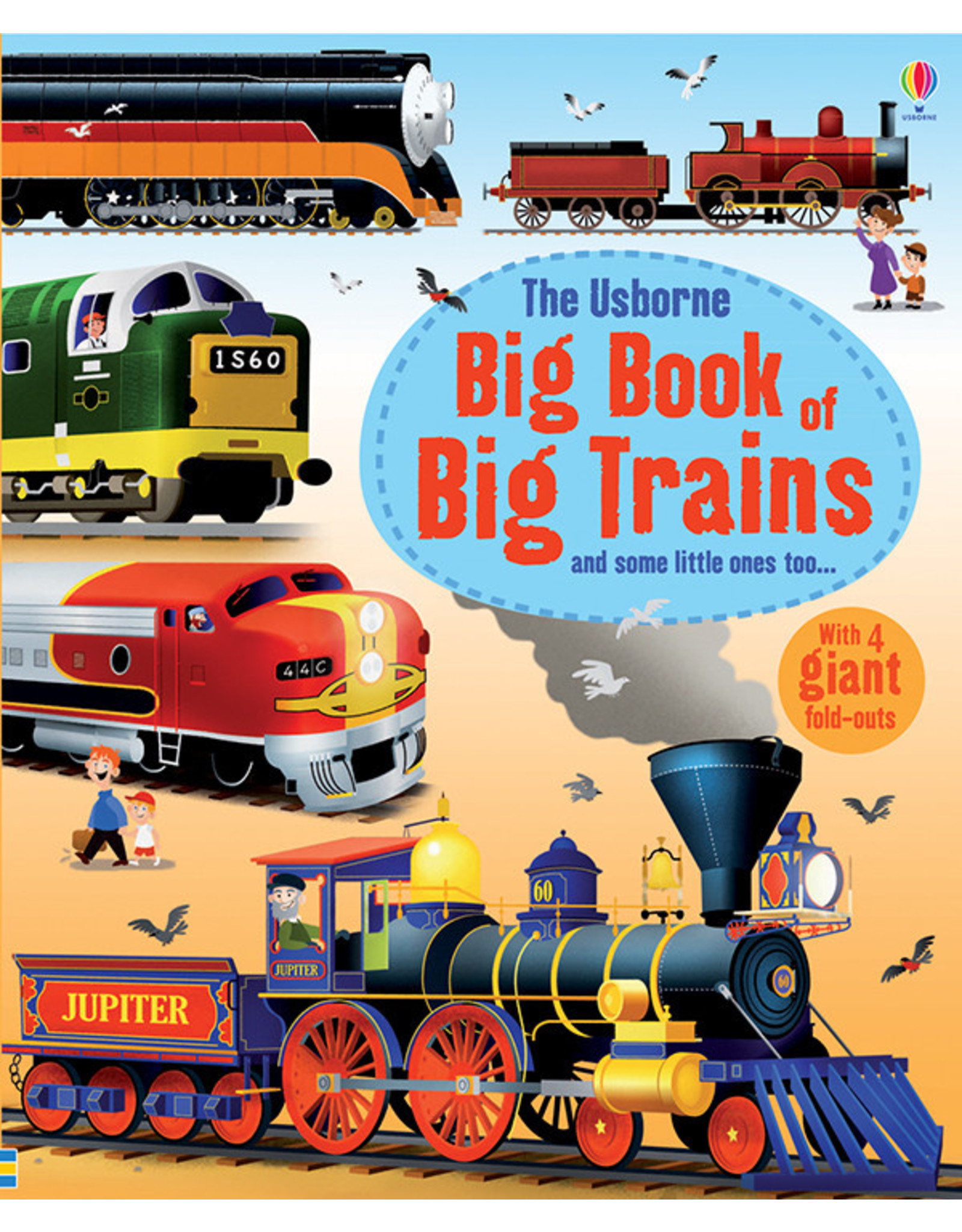 Usborne & Kane Miller Books Big Book of Big Trains
