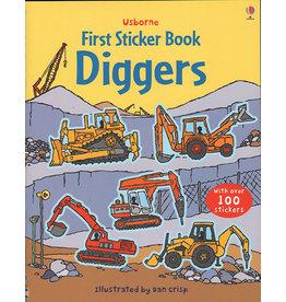Usborne & Kane Miller Books Diggers Sticker Book