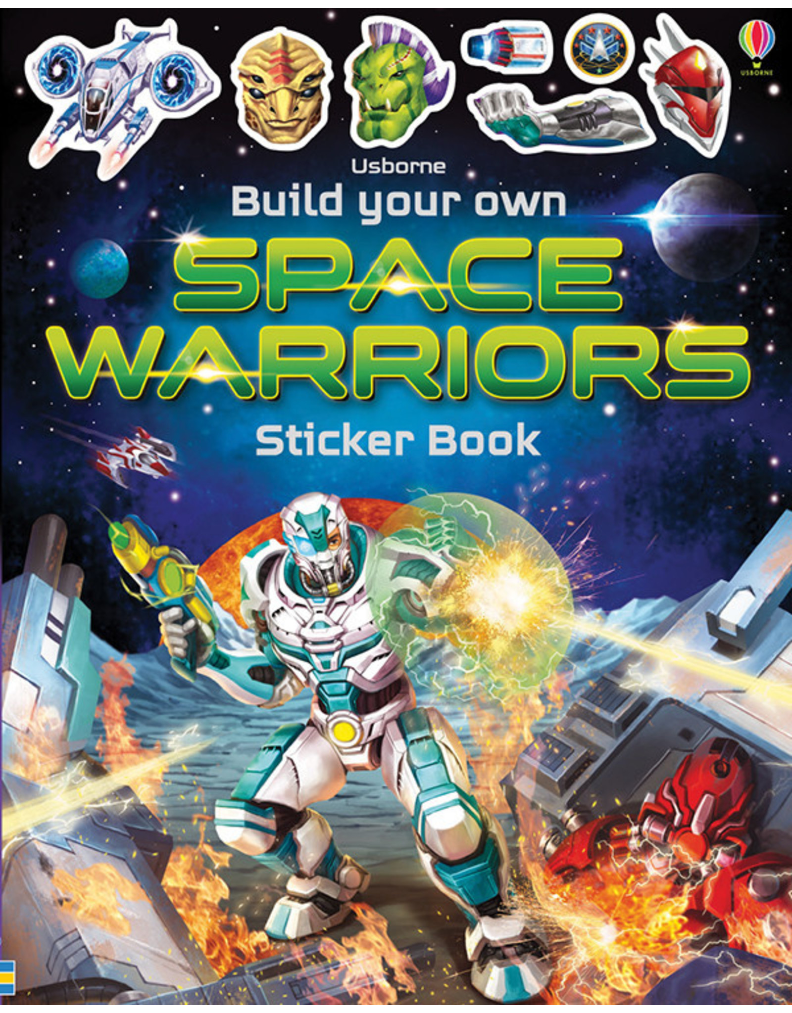 Usborne & Kane Miller Books Build Your Own Space Warriors