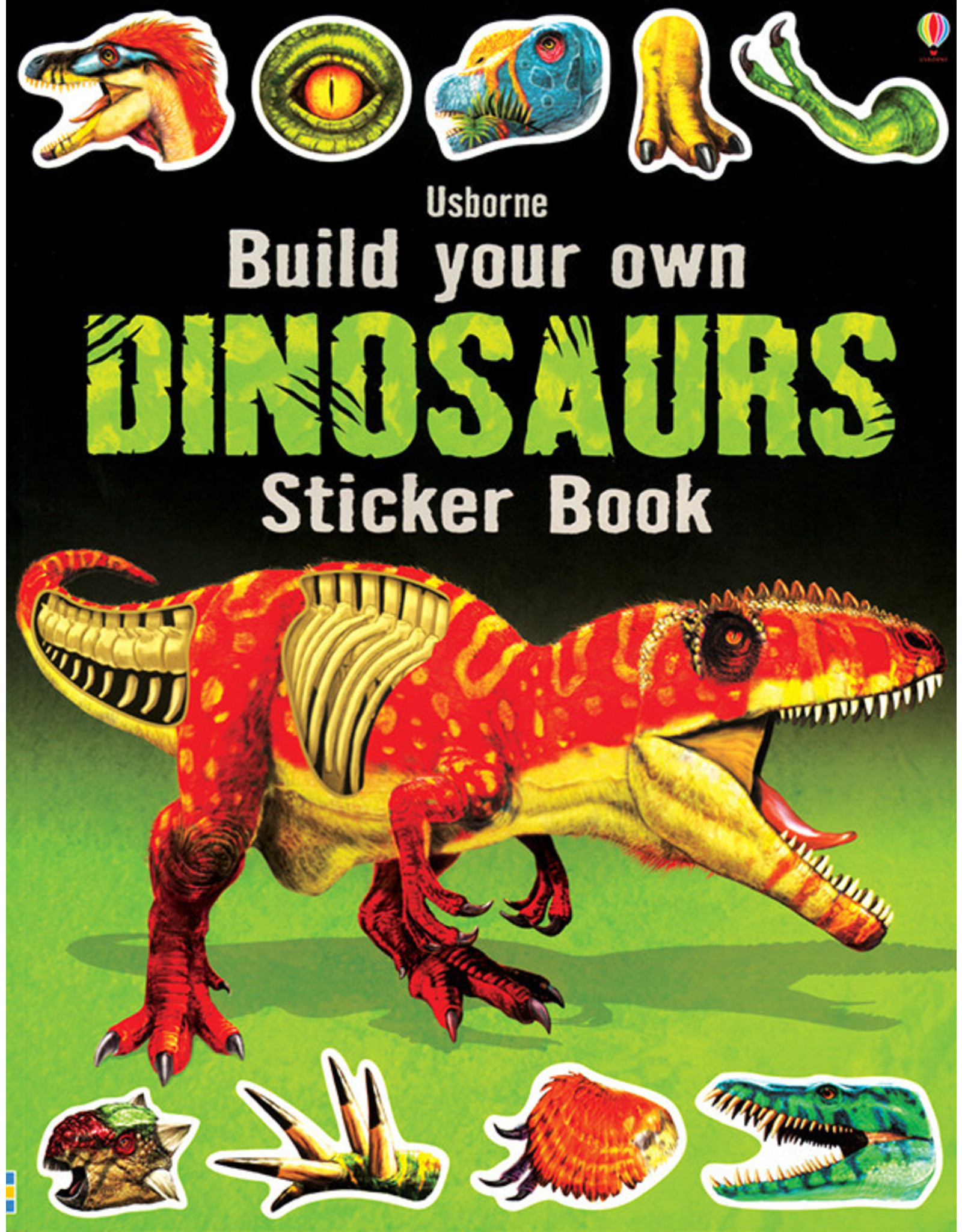 Usborne & Kane Miller Books Build Own Dinosaurs Stk Bk