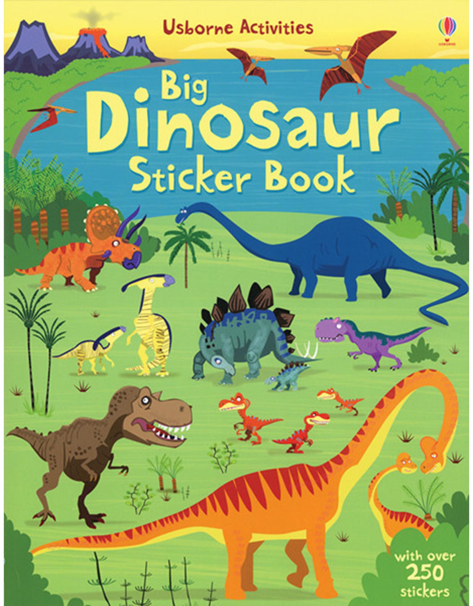 Usborne & Kane Miller Books Big Dinosaur Sticker Book