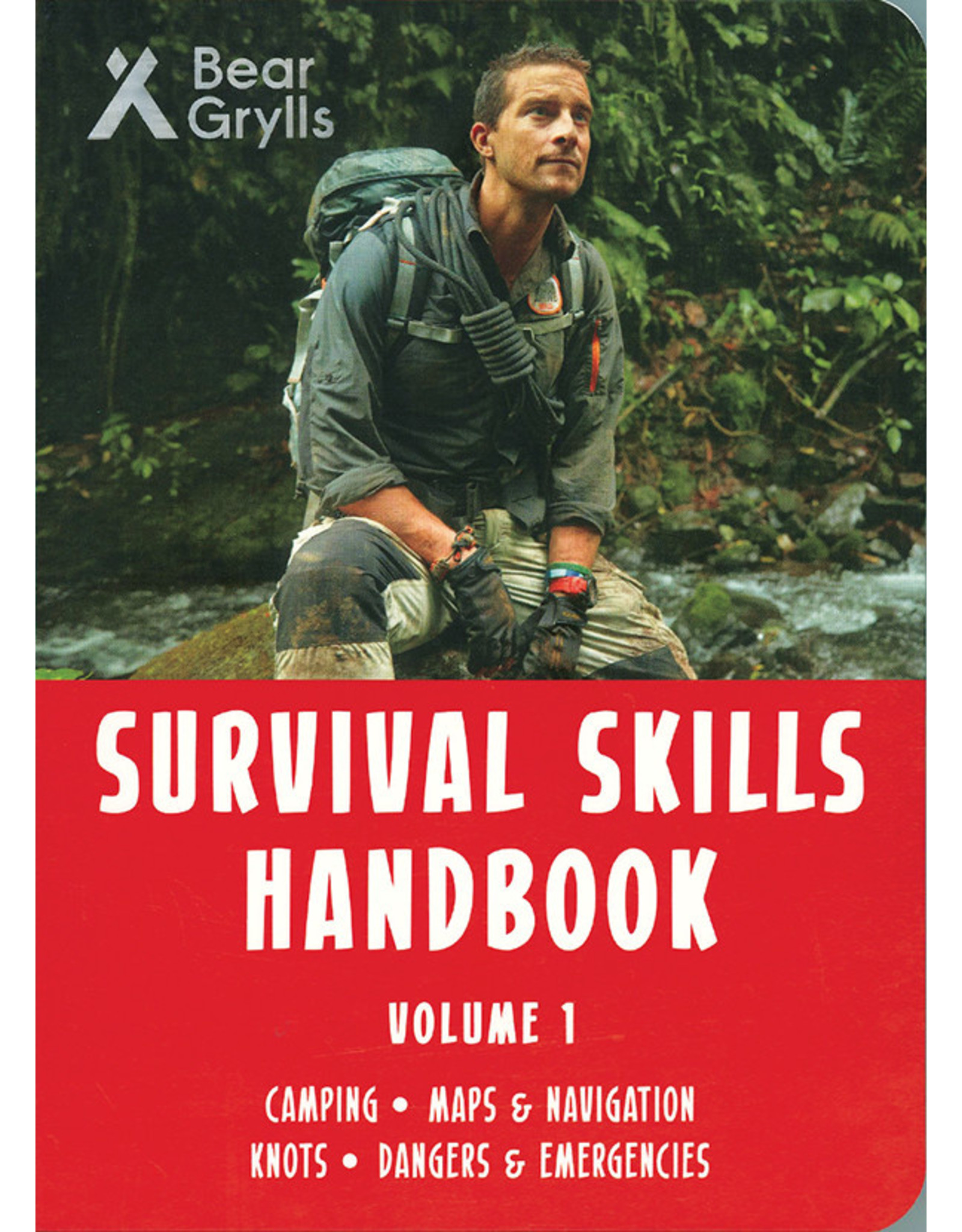 Usborne & Kane Miller Books Bear Grylls, Survival Skills Handbook Vol. 1
