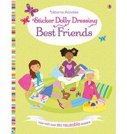 Usborne & Kane Miller Books Sticker Dolly Dressing Best Friends