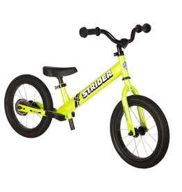 STRIDER Strider 14x Sport Balance Bike - Green 3-6 Years