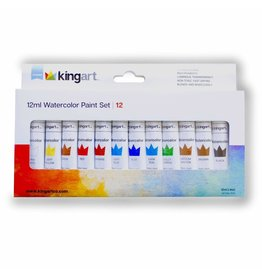 KINGART 12ml Watercolor Paint Set |12