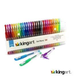 KINGART Gel Pens - 30