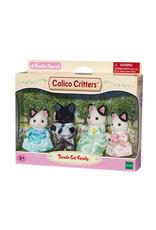 Calico Critters TUXEDO CAT FAMILY