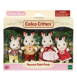 Calico Critters HOPS RABBIT FAMILY