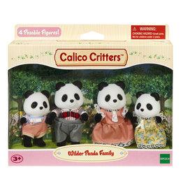 Calico Critters PANDA BEAR FAMILY