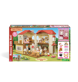 Calico Critters RED ROOF HOME GIFT SET