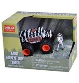 WILD REPUBLIC TRUCK-MINI ZEBRA