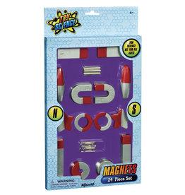 TOYSMITH Magnets 24 Piece Set