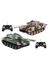 Jupiter Creations Battle Tanks R/C -2 Pack