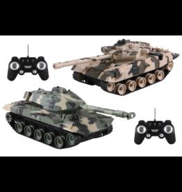 Jupiter Creations Battle Tanks R/C -2 Pack