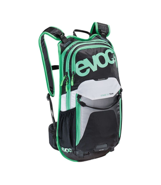EVOC EVOC, Stage 12, Hydration Bag, Volume: 12L, Bladder included: No, Black/White/Green