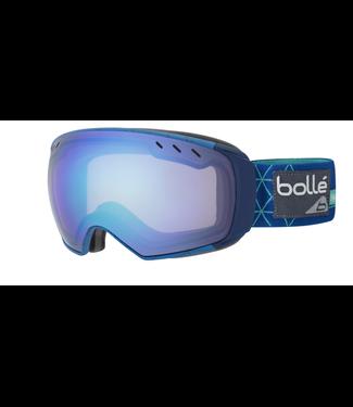 Bolle Bolle, Virtuose Goggle, Blue Iceberg, Aurora + Vermillon Gun Lens
