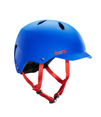 Bern Bern, Bandito, Helmet, Matte Cobalt Blue, SM, 54-57cm