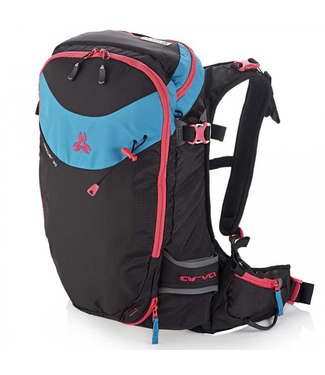 Arva Arva, Rescue 30L Backcountry Pack, Ws, Black/Turquoise