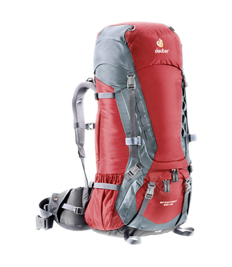 Deuter Deuter, Air Contact 55+10, Cranberry/Titan - pack only