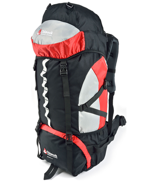 Chinook, Shasta 65 Expedition Pack, Red