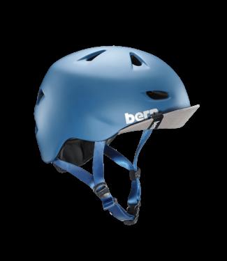 Bern Bern, Brentwood Helmet, Matte Steel Blue, S-M