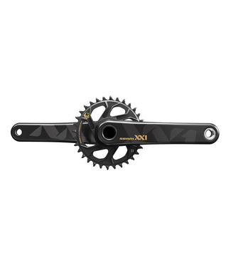 SRAM Sram, XX1 Eagle, Crankset, 12sp., 175mm, 32T, BCD: Direct Mount, BB30, CL: 49mm, Gold
