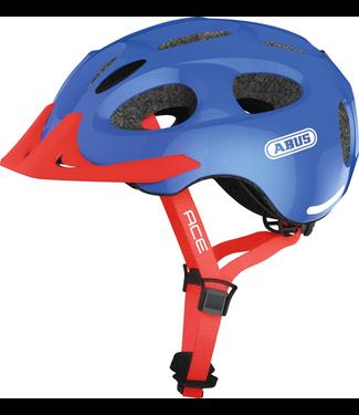 Abus Abus, Youn-I Ace, Helmet, Sparkling blue, M