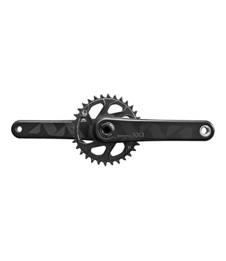 SRAM Sram, XX1 Eagle, Crankset, 12sp., 175mm, 32T, BCD: Direct Mount, BB30, CL: 49mm, Black