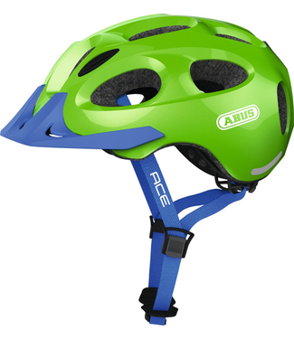 Abus Abus, Youn-I Ace, Helmet, Sparkling green, M