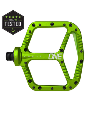 OneUp, Aluminum Pedals - GREEN