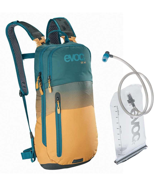 EVOC EVOC, CC 6 + 2L Bladder, Hydration Bag, Volume: 6L, Bladder included: 2L, Petrol/Loam