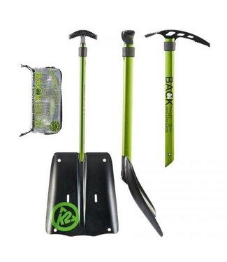 K2 K2 Rescue Shovel W/Axe Shaxe