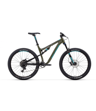 Rocky Mountain Bicycles Rocky Mountain, Thunderbolt A30, Large, Green/Black, 2018